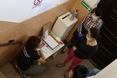 bezpieczny powrót - test procedur sanitarnych