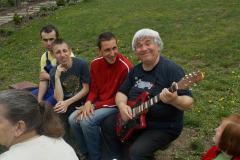 Zajęcia muzyczne w terenie :)