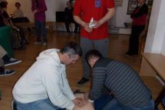 Zajęcia z ratownikami medycznymi 10.04.13